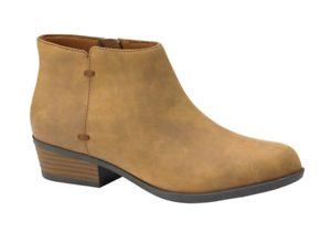 NEW CLARKS ADDIY ZORA 8.5 LEATHER ANKLE BOOTS WOMENS 8.5 ZORA TAN LEATHER BOOTIES FREE SH 65036e