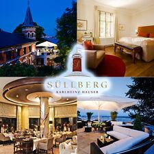 LUXUS Übernachtung Hamburg Blankenese 5* Hotel Süllberg Hauser Elbblick 2P