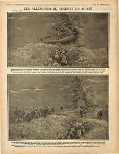 Poilus-Tranchee-Prisonniers-Deutsches-Heer-Bataille-de-la-Somme-War-Gun-1917-WWI