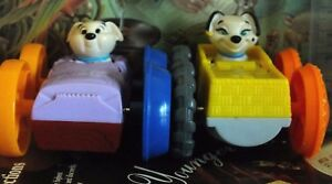 Special-Lot-of-2-Collectible-Flip-Cars-Toys-Dalmatians