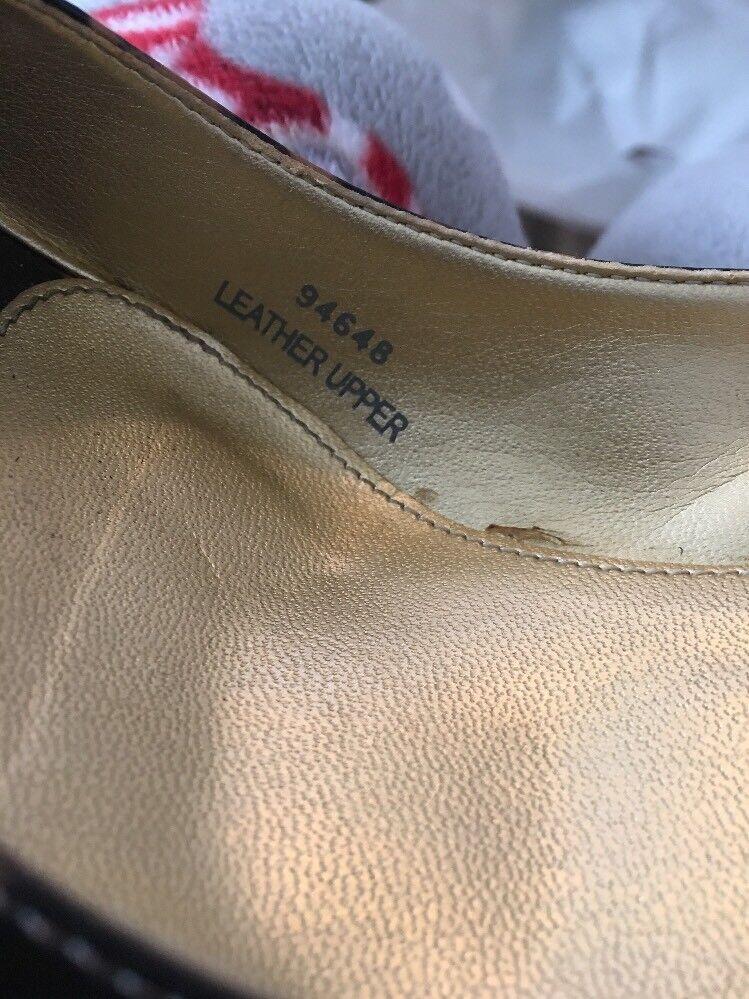 J Crew Serengeti Patent Leather Peep Heel Toe Pump Heel Peep Leopard Print damen Größe 8 94fa6c