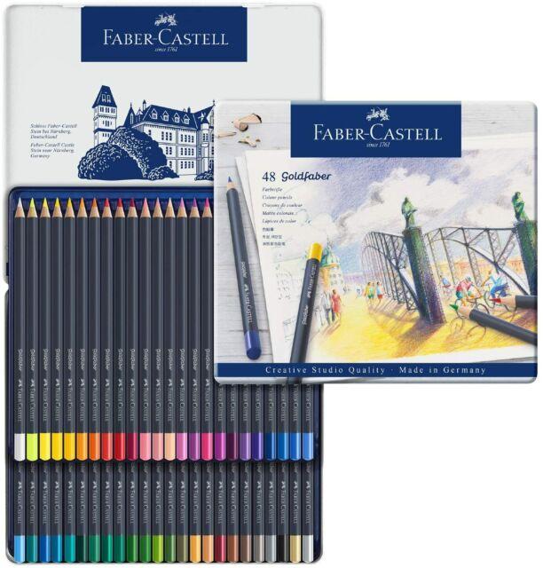 fabercastell goldfaber color pencil set 48pc 7489 for