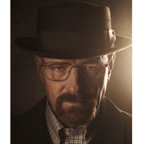 Buy Black Breaking Bad BB Hat Walter Cosplay Heisenberg Hat Pork Pie  Classical Cap online  0f651be49d4