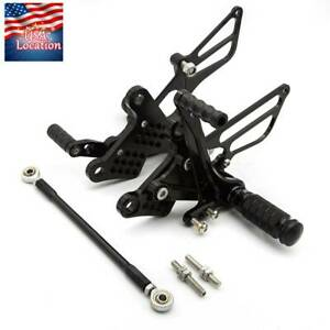 For-Kawasaki-Ninja-ZX6R-ZX636-2009-2016-2017-Rearset-Footpegs-Rear-Set-Shift-US