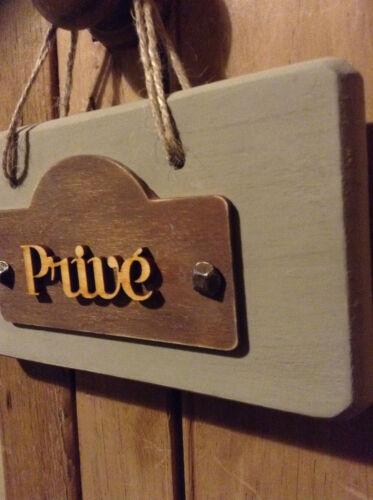 French Vintage Style Wooden Door Hanger