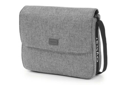 BABYSTYLE OYSTER 3 PUSHCHAIR STROLLER CHANGING BAG MERCURY GREY BRAND NEW