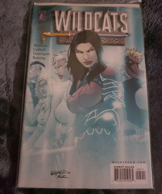 Wildstorm Universe 5 of 9 WILDCATS Nemesis Unforgiven Comic