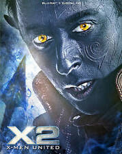 X2: X-Men United (Blu-ray Disc, 2016, Canadian Collectors Edition Steelbook...