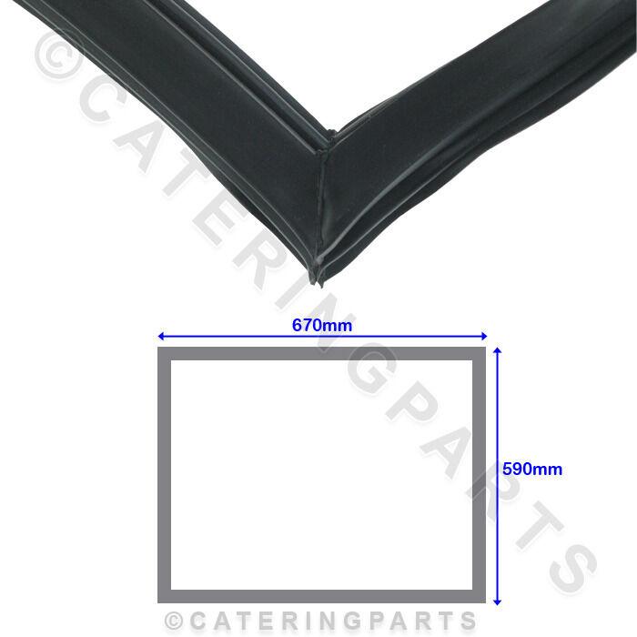 Wahr 810809 Schwarz Gummi Türdichtung 590mm 590mm 590mm X 670mm für Kühl- Gefrierkombination | Beliebte Empfehlung  1c7210