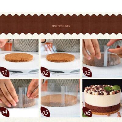 10 Meter 100 mm Torta Collare per Mousse Torte Cioccolato Strisce Trasparenti in Acetato per Decorazione Torte di Varie Torte Dessert