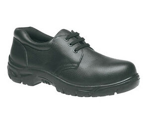 590274dd1b6 Details about Grafters Safety 3 Eye Mens Steel Toe Cap Leather Shoes Boots  UK6-13