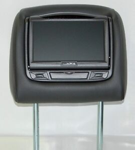 toyota rav4 dual dvd headrest video players for cloth or. Black Bedroom Furniture Sets. Home Design Ideas