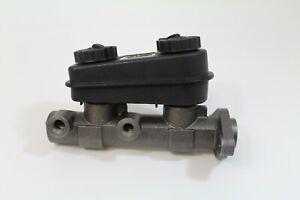 """Master Cylinder 1 1/16"""" Bore 4 Ports 9/16"""" & 1/2""""  Cast Iron Raw Finish Chrysler"""