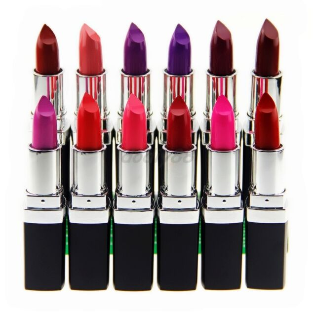 Vampire Style Makeup Purple Lipstick Lip Gloss Waterproof Long Lasting 12 colors