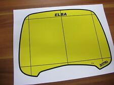 ACERBIS ELBA1 nachgefertigter Aufkleber Sticker Decal Vintage Enduro Lampenmaske