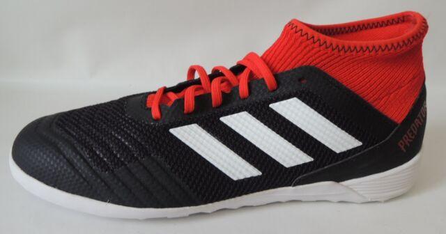 Adidas Predator Tango 18.3 IN Halle Schwarz Weiss Größe: 42