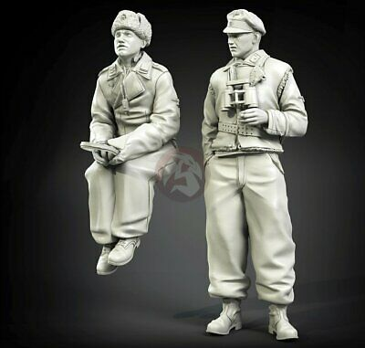 1//35 PANZER ART FI35-018 GERMAN TANKERS EARLY WAR PERIOD SET