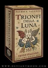 Trionfi Della Luna Tarot FULL 90 Card Deck - ITALIAN TEXT Valenza