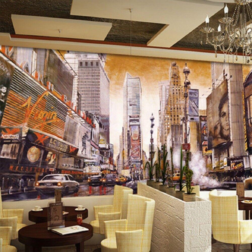 3D Hochhäuser Auto Straße 93 Tapete Wandgemälde Tapete Tapeten Bild Familie DE | Online Shop Europe  | Gewinnen Sie das Lob der Kunden  | New Style