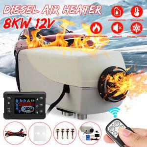 8KW-12V-Diesel-Standheizung-Luftheizung-Heizgeraet-Fernbedienung-LCD-J-z