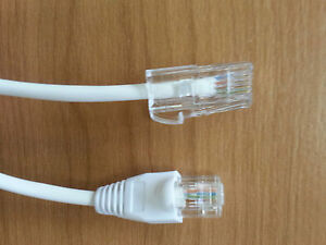rj45 rj11 bt431a cat5 ethernet adsl 1m 2m 3m 10m 15m modem broadband cable ebay. Black Bedroom Furniture Sets. Home Design Ideas