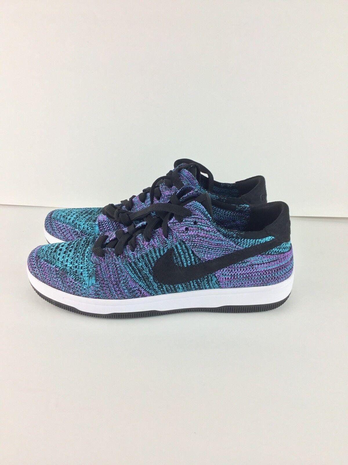 Nike e basso flyknit nero blu uomo bianco 917746-005 cloro viola uomo blu numero 9,5 f29b41