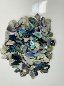 Australian-Rough-Dark-Opal-L-R-340cts-Colourful-amp-potential-gamble-ww1209-Video