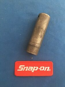 Snap On SIM200  1//2 inch drive 5//8 6 point deep impact socket