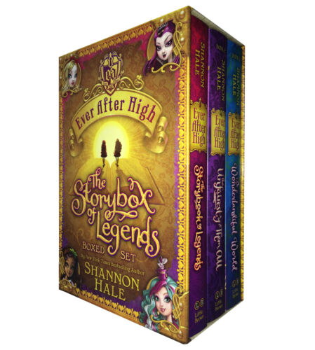 1 of 1 - Shannon Hale: Ever After High The Storybox of Legends 3 Books Boxed Set Hardback