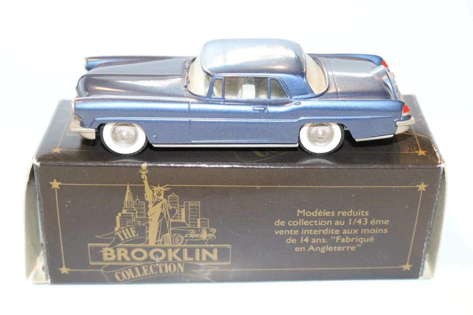 Brooklin BRK 11 Lincoln Continental Mark II Coupe 1956 1 43 perfect mint in box
