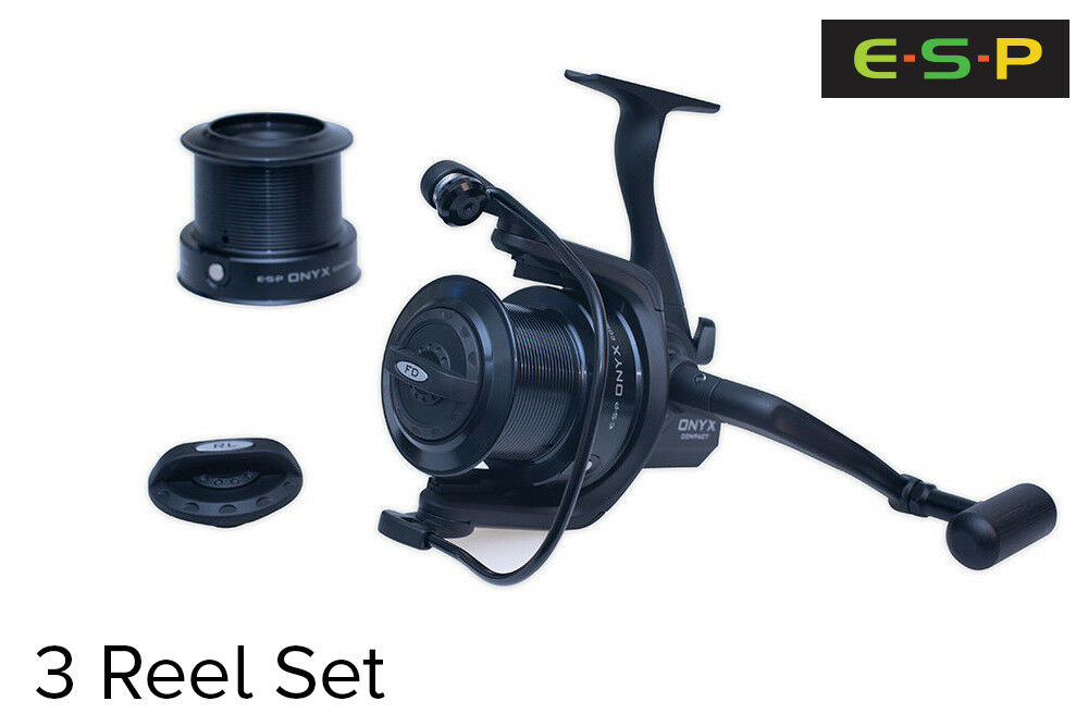 ESP Onyx Compact Big Pit Reels x 3 - Brand New + Free Delivery