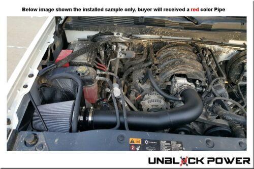 2014-2018 GMC SIERRA 1500 Chevy SILVERADO 4.3 4.3L V6 AF Dynamic AIR INTAKE RED