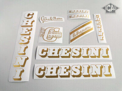 free shipping CHESINI decal set sticker for complete bicycle silk screen