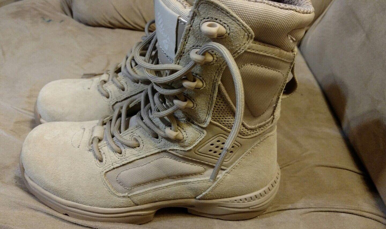 Altma para Exospeed 2 para Altma mujer Talla 4.5 policía militar Workbotas tan Desert d5dd37