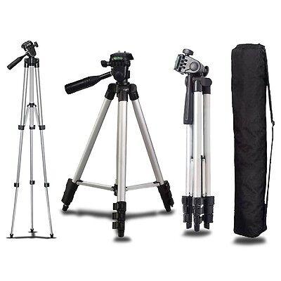 Universal Aluminum Portable Tripod Stand Camera Camcorder w/ Bag for Canon Nikon