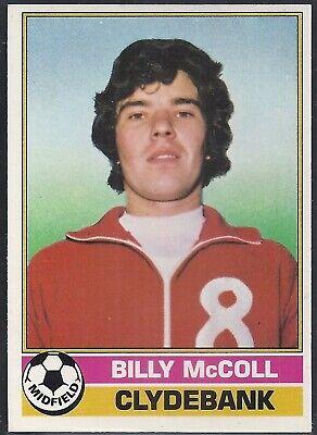 -#117- ABERDEEN IAN FLEMING SCOTTISH YELLOW BACK 1977 TOPPS-FOOTBALL