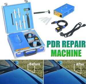Car Body Paintless Dent Repair Remover Tool Magnetic Induction Heater Hot Box