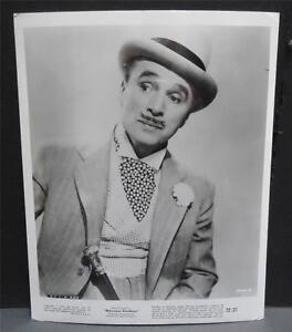 MONSIEUR-VERDOUX-Charlie-Chaplin-1972-Vintage-B-amp-W-8x10-Press-Photo-Still