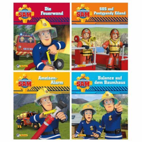 Mini Pixi BücherTeil 9 - 12Feuerwehrmann SamGeschichtenband