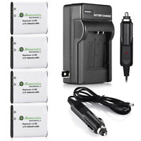 D-li92 Battery + Charger For Pentax Wg-1 Wg-2 Wg-3 Wg-4 Gps Wg-10 X70 Rz10 Rz18
