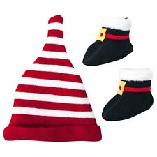 Hallmark Santa Claus Hat and Bootie Set for Baby Gift (6-12 Months) Christmas