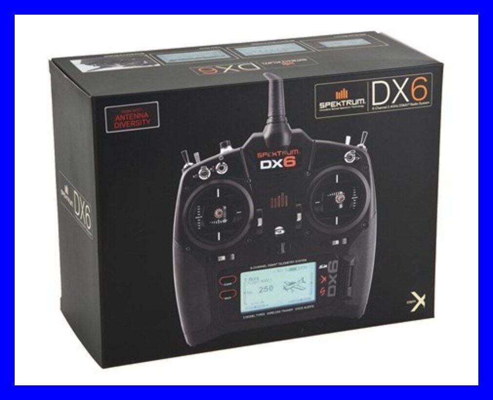 Neues spektrum dx6 dsmx 2.4ghz rc helikopter - flugzeug spmr6750