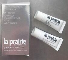 LA PRAIRIE LINE INTERCEPTION POWER DUO DAY & NIGHT CREAM 6 ml / 0.2 oz total NIB