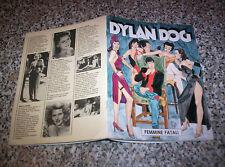 DYLAN DOG FEMMINE FATALI SUPPLEMENTO A GLAMOUR IO DYLAN E LE DONNE 1990 OTTIMO