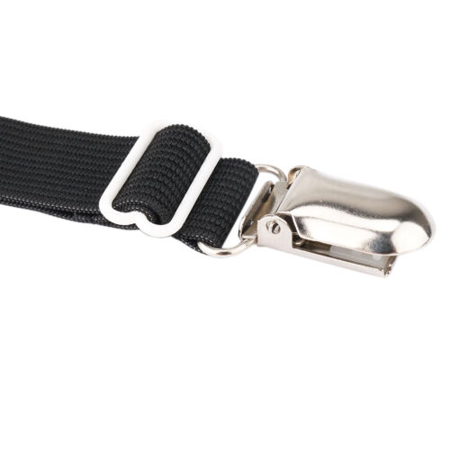 US 4Pcs/_Mattress Sheet Clip Grippers Straps Suspender Bed Sofa Fasteners Holder
