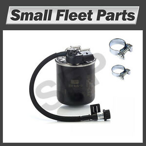 Details about Sprinter Fuel Filter 2 1L OM651 Engine Mercedes Benz  Freightliner