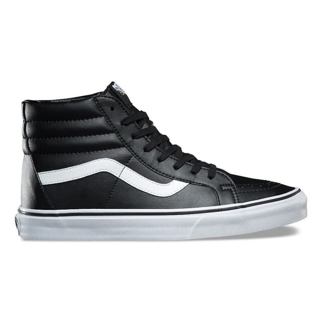 3225beb93e6ad3 VANS Men s SNEAKERS Sk8 Hi Reissue Shoes High Trainers Tall Leather ...