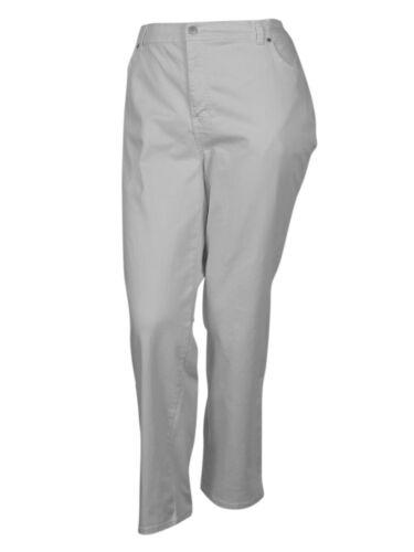 22W, White Wash Charter Club Women/'s Classic Straight Leg Denim Jeans