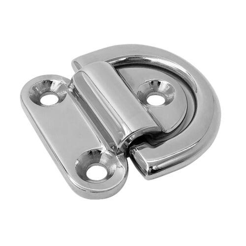 Zurrung D Ring Zurrpunkt Anker 69 x 65 mm 2,7 x 2,6 Zoll Klappdeck Pad Augen