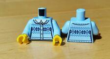 Lego MINIFIGURE LIGHT BLUE FLANNEL SWEATER TORSO B606